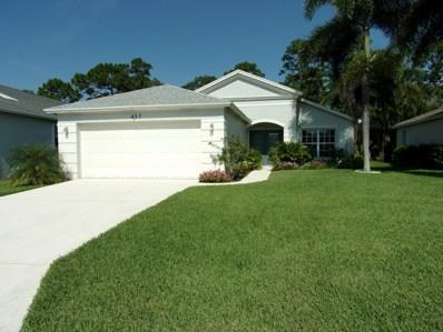 437 SW Talquin Lane, Port Saint Lucie, FL 34986 - MLS#: RX-10493830