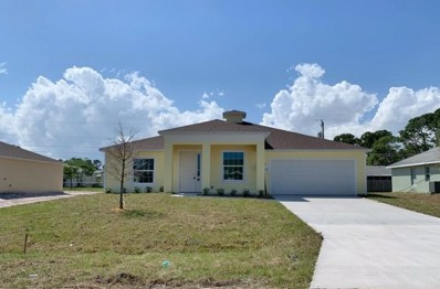 3068 SW Lucerne Street, Port Saint Lucie, FL 34953 - #: RX-10494525