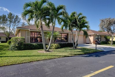 4380 Cedar Tree Place UNIT A, Boynton Beach, FL 33436 - #: RX-10494884