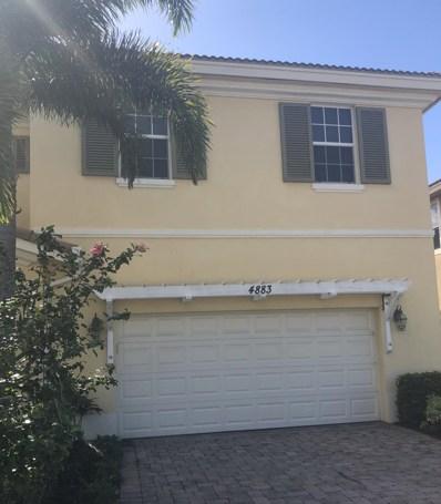 4883 Cadiz Circle, Palm Beach Gardens, FL 33418 - #: RX-10495103