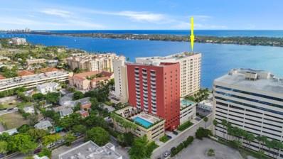 1551 N Flagler Drive UNIT 815, West Palm Beach, FL 33401 - MLS#: RX-10495528