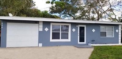 606 S 25th Street, Fort Pierce, FL 34947 - MLS#: RX-10495624