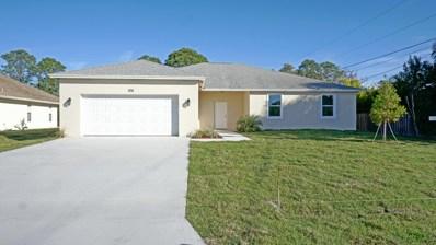 1311 SW Aachen Avenue, Port Saint Lucie, FL 34953 - #: RX-10495765