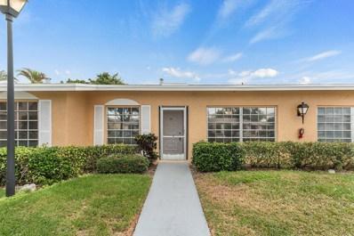 13719 Flora Place UNIT B, Delray Beach, FL 33484 - #: RX-10495766