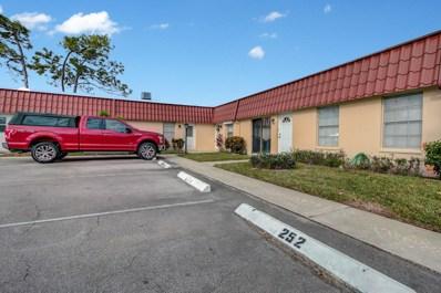 256 Down East Lane UNIT A, Lake Worth, FL 33467 - MLS#: RX-10496445