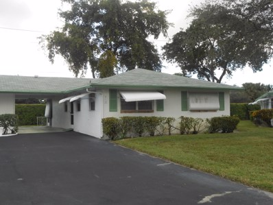812 Meadowlark Lane, Delray Beach, FL 33445 - MLS#: RX-10496599