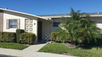 2572 Emory Drive E UNIT D, West Palm Beach, FL 33415 - MLS#: RX-10496970