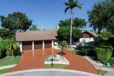 21188 Bellechasse Court, Boca Raton, FL 33433 - MLS#: RX-10497374
