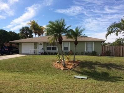 1114 SW Del Rio Boulevard, Port Saint Lucie, FL 34953 - #: RX-10497512