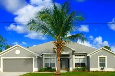 1861 SW Hampshire Lane, Port Saint Lucie, FL 34953 - MLS#: RX-10497730