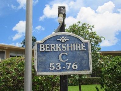 59 Berkshire C UNIT 59c, West Palm Beach, FL 33417 - MLS#: RX-10499188