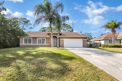 6810 NW Abadan Street, Port Saint Lucie, FL 34983 - #: RX-10499274