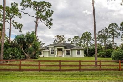 18384 93rd Road N, Loxahatchee, FL 33470 - MLS#: RX-10499308