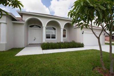 2052 SW Gailwood Street, Port Saint Lucie, FL 34987 - MLS#: RX-10499331