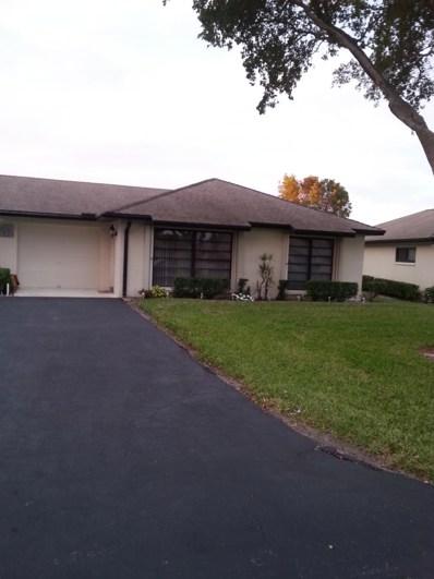 4872 Dovewood Circle UNIT B, Boynton Beach, FL 33436 - MLS#: RX-10499377