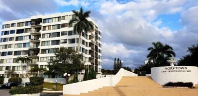 1500 Presidential Way UNIT 301, West Palm Beach, FL 33401 - MLS#: RX-10499542