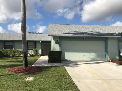 23329 SW 61st Avenue UNIT B, Boca Raton, FL 33428 - MLS#: RX-10499635