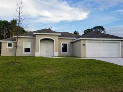 1825 SW Renfro Street, Port Saint Lucie, FL 34953 - MLS#: RX-10499726