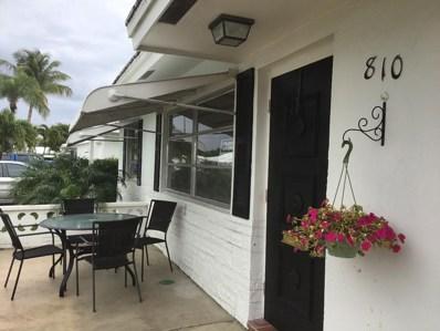 810 SW 7th Avenue, Boynton Beach, FL 33426 - MLS#: RX-10499778
