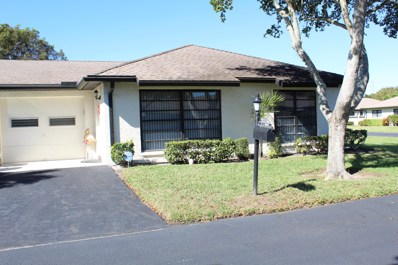10281 Dovewood Lane UNIT B, Boynton Beach, FL 33436 - MLS#: RX-10499987
