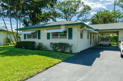 231 Cardinal Lane, Delray Beach, FL 33445 - #: RX-10500445