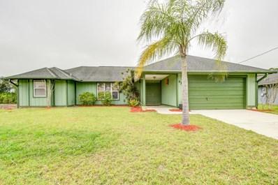 4342 SW Lagrange Street, Port Saint Lucie, FL 34953 - MLS#: RX-10500717