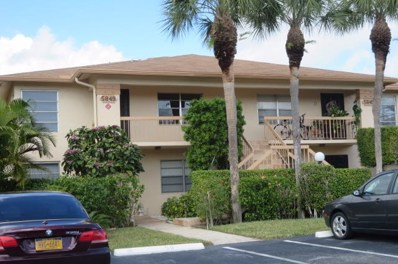 5849 Areca Palm Court UNIT B, Delray Beach, FL 33484 - MLS#: RX-10501435