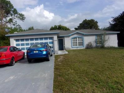 1243 SW Empire Street, Port Saint Lucie, FL 34983 - MLS#: RX-10501772