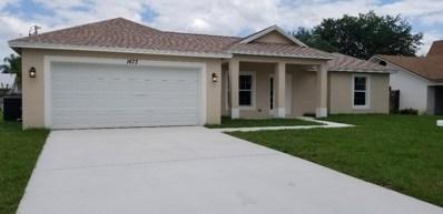 1673 SW Sylvester Lane, Port Saint Lucie, FL 34984 - MLS#: RX-10502498