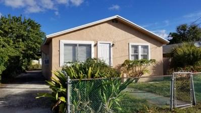 628 W 7th Street, Riviera Beach, FL 33404 - MLS#: RX-10502715