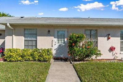 393 Bennington Lane UNIT 393, Lake Worth, FL 33467 - #: RX-10502892