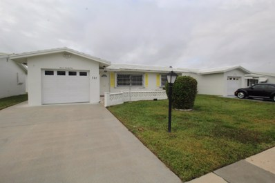 721 SW 18th Street, Boynton Beach, FL 33426 - MLS#: RX-10503360