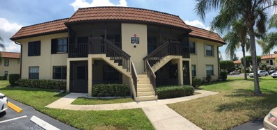 7233 Golf Colony Court UNIT 104, Lake Worth, FL 33467 - #: RX-10503496