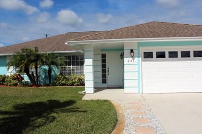 241 SE Todd Avenue, Port Saint Lucie, FL 34983 - MLS#: RX-10503939