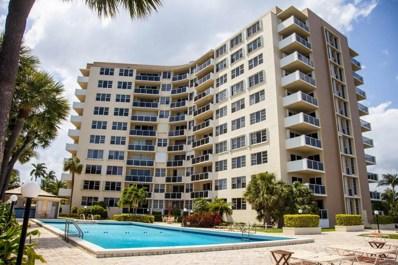 2800 N Flagler Drive UNIT 812, West Palm Beach, FL 33407 - MLS#: RX-10504059