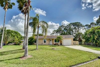 1857 SW California Boulevard, Port Saint Lucie, FL 34953 - MLS#: RX-10504549