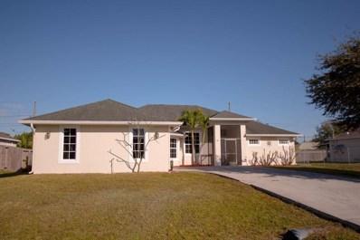 941 SW Haas Avenue, Port Saint Lucie, FL 34953 - MLS#: RX-10504806