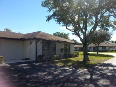 4776 Greentree Drive UNIT B, Boynton Beach, FL 33436 - MLS#: RX-10505561