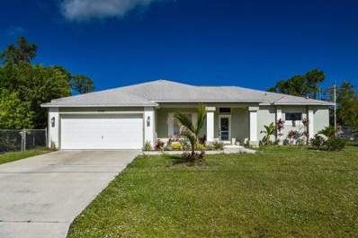 5574 NW Cruzan Avenue, Port Saint Lucie, FL 34986 - #: RX-10505639