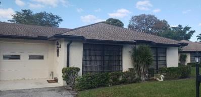 4641 Finchwood Way UNIT B, Boynton Beach, FL 33436 - MLS#: RX-10505746