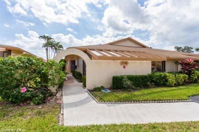 5744 Phoenix Palm Court UNIT A, Delray Beach, FL 33484 - #: RX-10506299