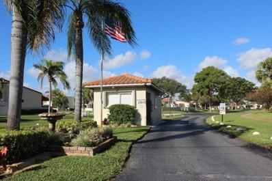 2671 Boundbrook Boulevard UNIT 102, West Palm Beach, FL 33406 - MLS#: RX-10506524