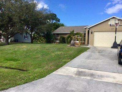 637 SE Majestic Terrace, Port Saint Lucie, FL 34983 - MLS#: RX-10506985