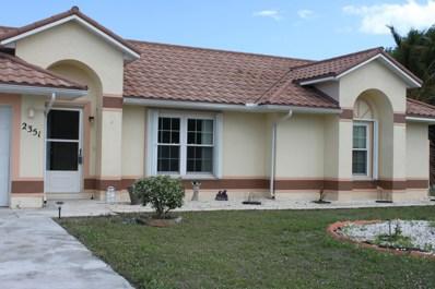 2351 SE Hurley Court, Port Saint Lucie, FL 34952 - #: RX-10507415
