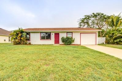 1357 SW Gastador Avenue, Port Saint Lucie, FL 34953 - MLS#: RX-10507860