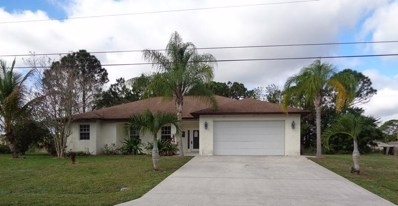 3924 SW Jarmer Road, Port Saint Lucie, FL 34953 - MLS#: RX-10509139