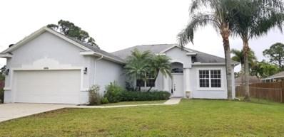 1606 SW Boykin Avenue, Port Saint Lucie, FL 34953 - MLS#: RX-10509538