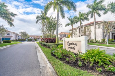 55 E Lancaster Road W UNIT 1, Boynton Beach, FL 33426 - MLS#: RX-10510561