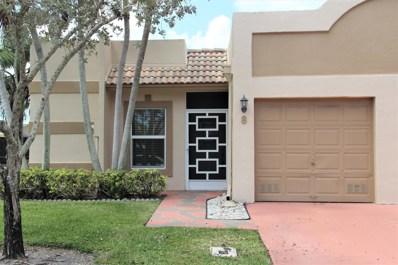 18901 Haywood Terrace UNIT 8, Boca Raton, FL 33496 - MLS#: RX-10511123