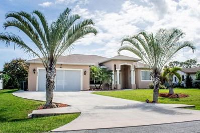 521 NE Noah Street, Port Saint Lucie, FL 34983 - MLS#: RX-10511415